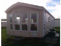 8 berth Holiday Caravan for hire.Presthaven Sands Beach Holiday Resort, Prestatyn, North Wales (MG)