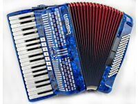 SEM 402 - 3 Voice - 37 Keys / 96 Bass Buttons - Lightweight Piano Accordion in Excellent Condition