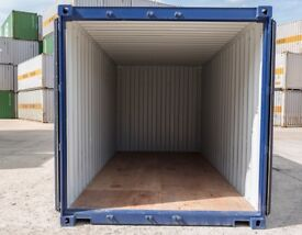 storage containers - dry and easy access 20 ft by 8 ft.