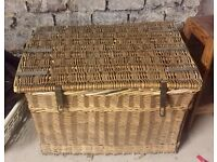 Large Wicker Basket / Hamper *New Lower Price*