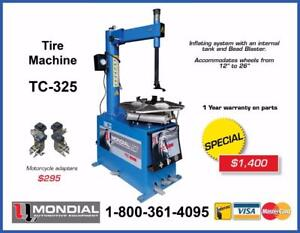 NEW Tire Changer TC-325 Tire Machine Wheel BALANCER COMBO PROMOTION Car lift Auto Hoist Parking Lift scissor lift