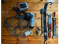 Wheelchair Winch Parvalux Electric Motor Unwin Clamps