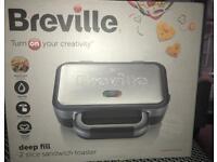 Breville deep fill sandwich toaser