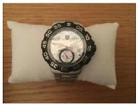 Tag Heuer chronograph(white/silver dials ) watch