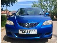 2004 MAZDA 3 TS2 2.0 150 BHP 112000 MILES MOT 10/17 MINT DRIVE NEW BRAKE DISCS & PADS (£160 SPENT)