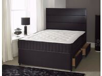 IMMEDIATE DELIVERY - Double/Small Double Bed with 13inch Memory Foam Luxury Orthopaedic Mattress