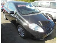 FIAT PUNTO 1248cc DYNAMIQUE MULTIJET 90 TURBO DIESEL 3 DOOR HATCH 2006-06, SERVICE HISTORY