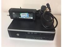 HP Compaq 8200 Elite Ultra-Slim Desktop, Intel Core i3-2120, HDD 300, RAM 4GB, Win 7 Pro, DVD/CD RW