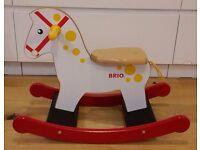BRIO Wooden Rocking Horse