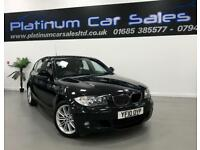 BMW 1 SERIES 120D M SPORT (black) 2010