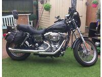 Harley Davidson FXDCI Dyna Super Glide Custom - 2005 - 1450cc - Black - 18,000 miles