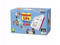 Nintendo 2DS With Tomodachi Life 2
