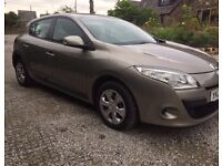 2010 Renault Megane. Immaculate. Long MOT & TAX. Drives perfect. Bargain