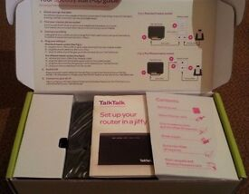 LATEST Talktalk Wireless Router HG633 - Dual Band (2.4 & 5GHz) - ADSL and FIBRE Brand new