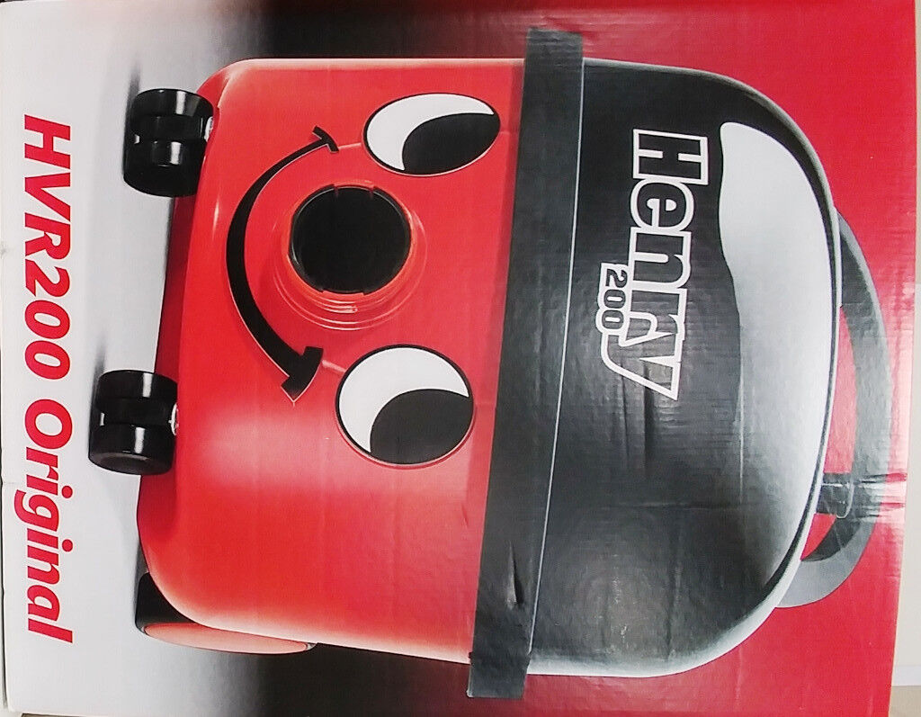 Henry Hoover - Brand New, Sealed Box - RRP £125 - Just £90!