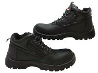 BRAND NEW IN THE BOX - TOP BRAND SAFETY BOOTS SIZE 10 EUR 44 WORK WEAR PPE FOOTWEAR SHOES WITH TAGS