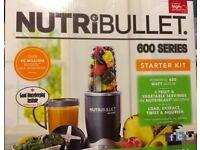 Nutribullet 600 series Starter Kit - Brand new unwanted gift