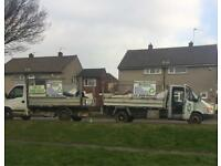 Brownings waste Rubbish removal,clearance,scrap metal,garden maintenance,man and digger