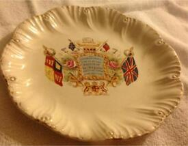 Royal Commemorative Plate Celebrating 60 Years Of The Reign Of Queen Victoria