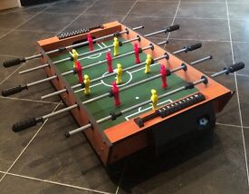 Tabletop Football Table