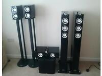 Premium Home Cinema Speakers for Sale inc B&W Subwoofer