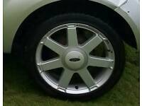 Ford fiesta limited edition alloys