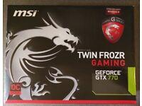 MSI GTX 770 (2048 MB) (N770TF2GD5OC) Graphics Card