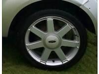"Ford 16"" alloys"