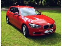 BMW 1 SERIES 2.0 116d SE Sports Hatch 5dr (start/stop) Low Mileage, one owner.