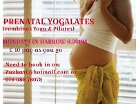 PREGNANT LADIES - YOGALATES CLASS(combines Yoga & Pilates)