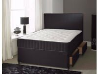 Sameday Delivery 7Days a week King Size Black Bed and MEMORYFOAM Mattress Factory Direct Call James