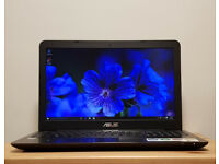 ASUS X556U Laptop, Intel Core i7 6th Gen, RAM 12GB, 1.5 TB GB HDD/ 256GB SSD