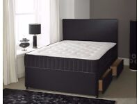 =AMAZING OFFER=BRAND NEW SINGLE DOUBLE AND KING SIZE DIVAN BED AVAILABLE IN THREE DIFFERENT COLOURS