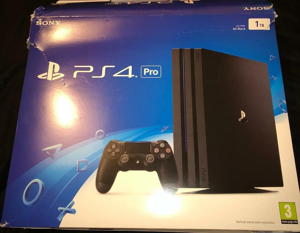 PS4 Pro 1tb as new boxed.