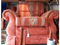 Red Cloth chair FREE