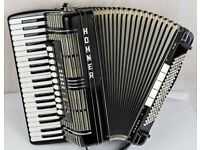 Hohner Morino V S - MIDI-C Accordion - 5 Voice Double Cassotto 120 Bass