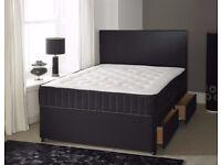 COMPLETE MEMORY FOAM SET =NEW Double divan bed with MEMORY FOAM mattress Range Or Full Foam Mattress