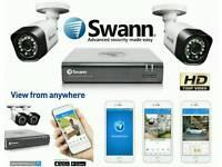 Smart HD CCTV System / Full Package / home DIY Kit - Plug & Play / BRAND NEW swann 720p 1080p