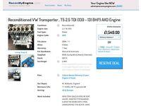 ReconMyEngine - VW TRANSPORTER T5 / TOUREG 2.5 TDI BNZ AXE AXD engine