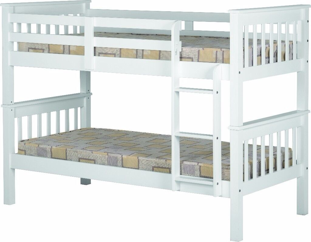 NEW strong solid bunk beds can be split into 2 singles from £169
