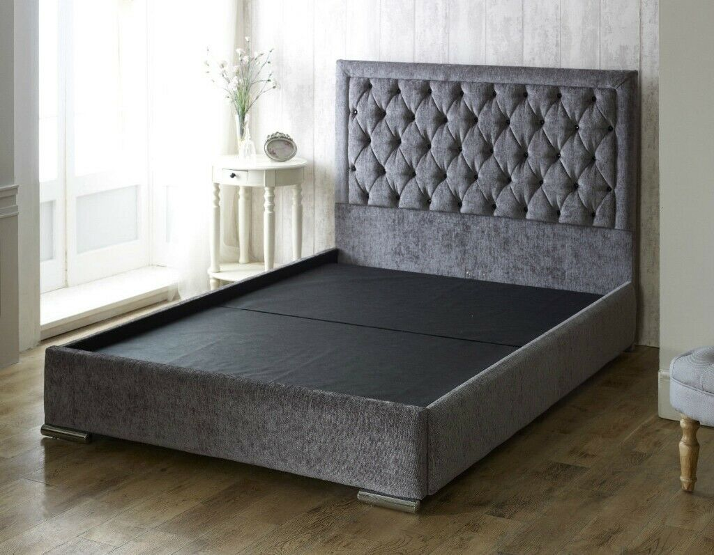 Beds Quality Luxury Chelsea Fabric Chenille Bed Many Available At Very Low Affordable Prices