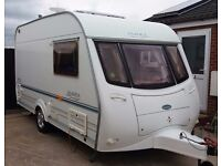 COACHMAN AMARA 380/2 BERTH 2001 WITH MOTOR MOVER & AWNING . NO DAMP IN V,G,C,