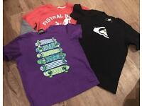 Boys designed tshirt bundle age 5-6