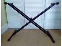 Double-Braced Adjustable X-Style Keyboard Stand