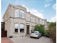 Paisley (PA1) - Lovely big three-bed property with private parking, garden and great transport links