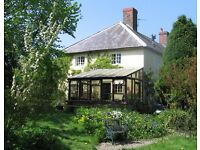 Cottage for Christmas week near Clun in Shropshire Hills. 3 beds, spacious.