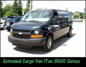 2009 Chevrolet Express 3500 Fully Loaded 1Ton Extended van.