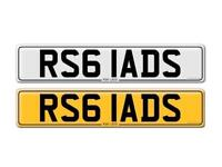 RS6 LADS - Outstanding private number plate for sale!