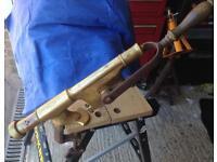 Antique bar-top corkscrew