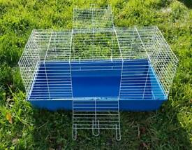 Large indoor rabbit cage and accessories